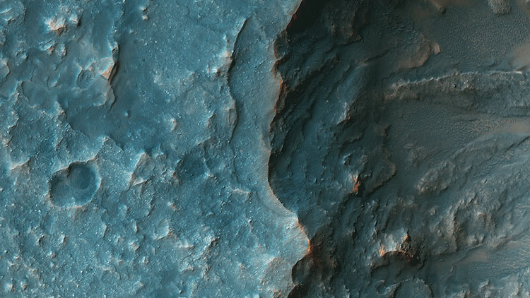 Martian Terrain — Psiu Puxa Space Wallpapers