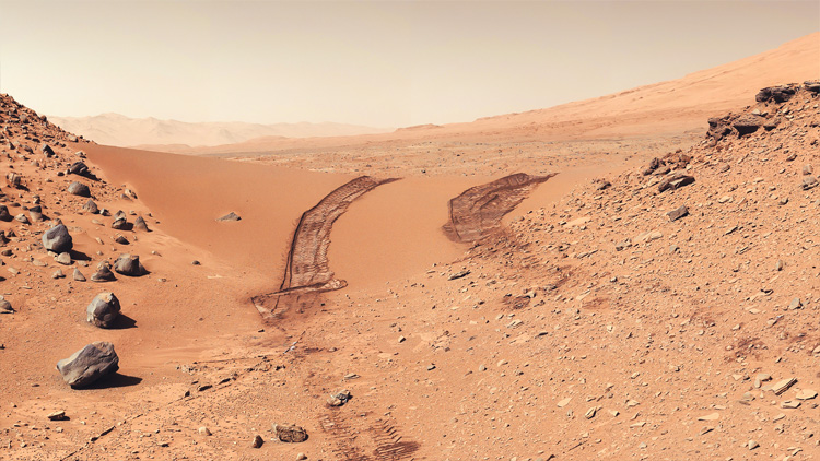 Martian Landscape — Psiu Puxa Space Wallpapers